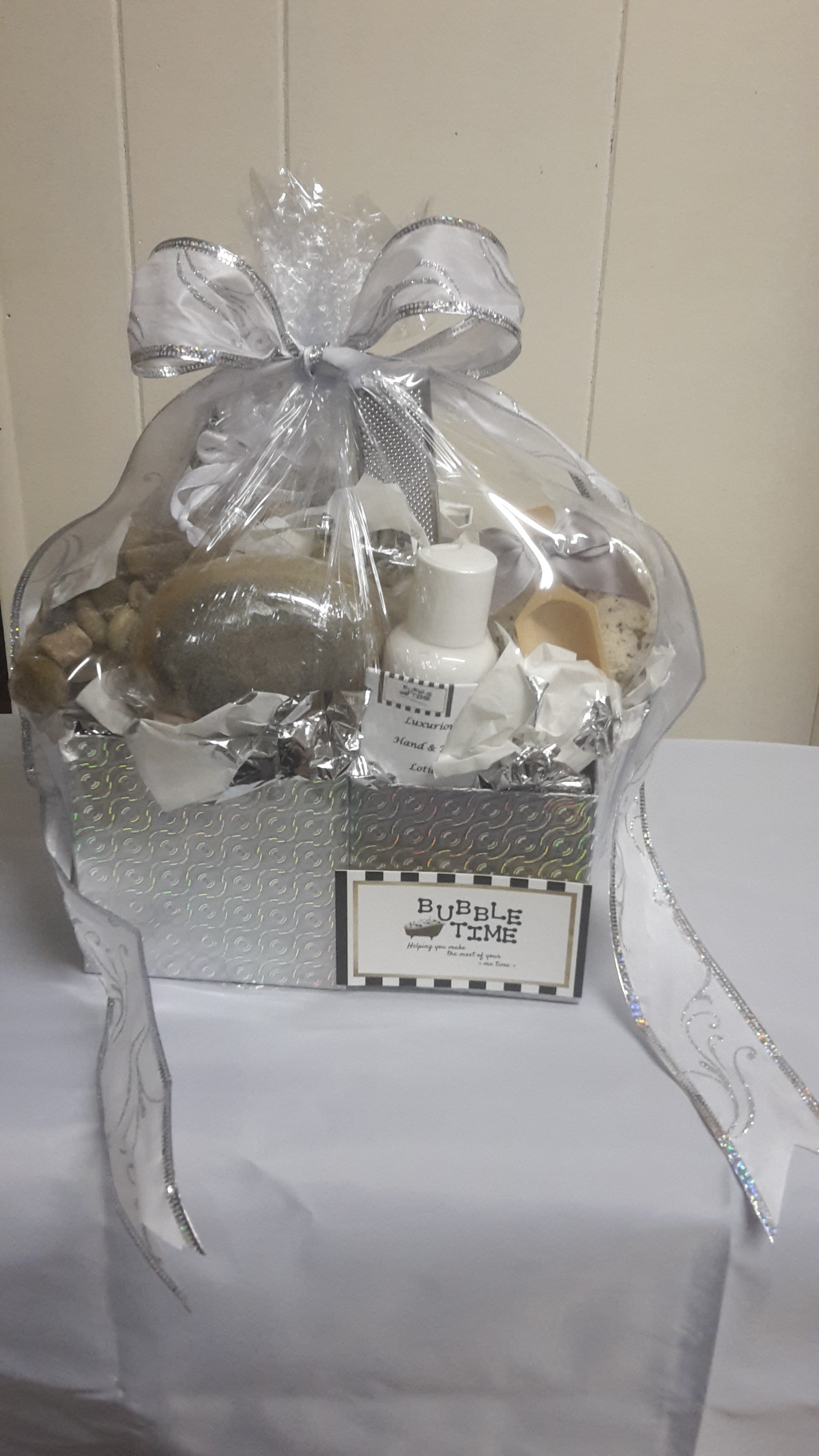 $25 Gift Basket of Handcrafted Bath & Body Care Products