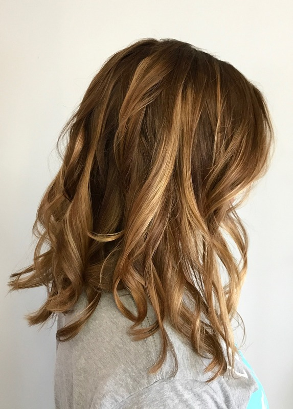 Balayage, Haircut & Style, Deep Conditioning Treatment